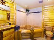 Extravagantní koupelna v dřevitém stylu, zdroj: shutterstock.com