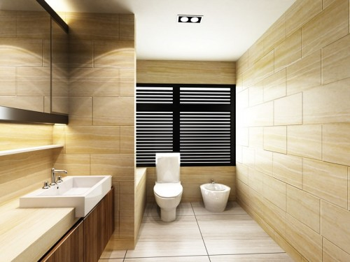 Vizualizace koupelny, zdroj: shutterstock.com
