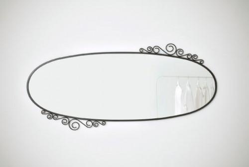 Zrcadlo OKNE, zdroj: ikea.cz